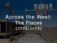 Across the West: the Places